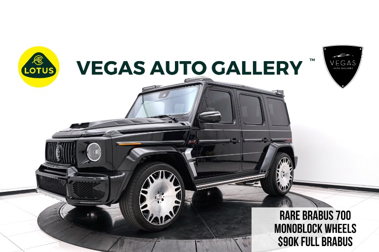 Used 2021 Mercedes-Benz G-Class G 63 AMG® for sale $389,800 at Lotus Cars Las Vegas in Las Vegas NV