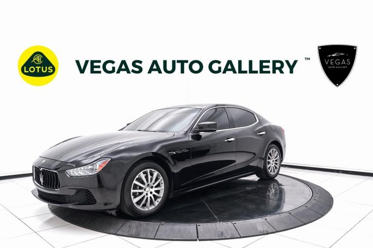 Used 2014 Maserati Ghibli S Q4 for sale $29,800 at Lotus Cars Las Vegas in Las Vegas NV