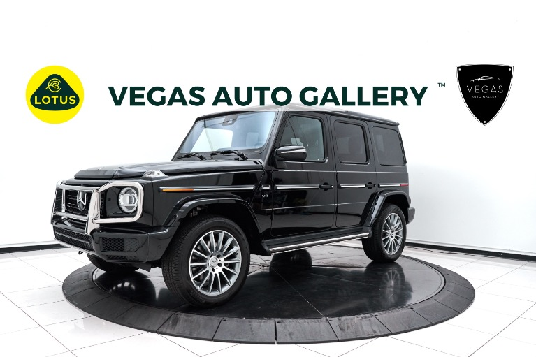 Used 2020 Mercedes-Benz G-Class G 550 for sale $189,800 at Lotus Cars Las Vegas in Las Vegas NV