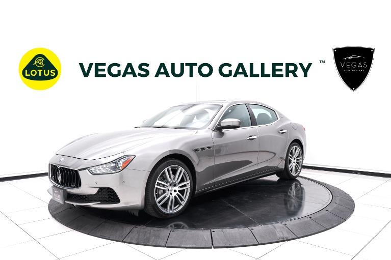 Used 2017 Maserati Ghibli Base for sale $37,800 at Lotus Cars Las Vegas in Las Vegas NV