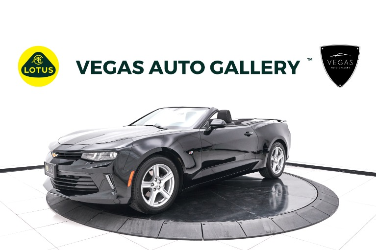 Used 2017 Chevrolet Camaro 1LT for sale $26,800 at Lotus Cars Las Vegas in Las Vegas NV