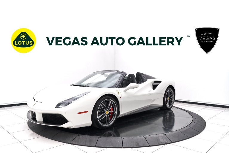 Used 2017 Ferrari 488 Spider Base for sale $279,800 at Lotus Cars Las Vegas in Las Vegas NV