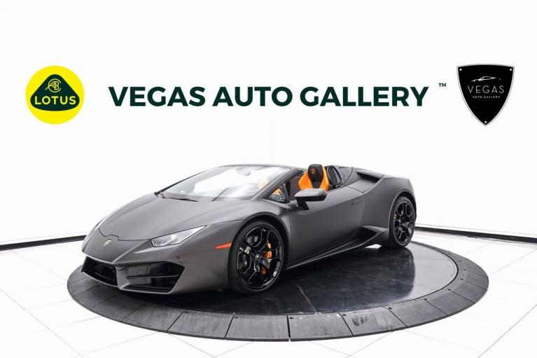Used 2018 Lamborghini Huracan LP580-2S for sale $249,800 at Lotus Cars Las Vegas in Las Vegas NV