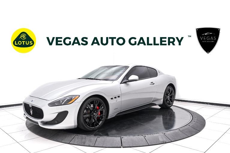 Used 2017 Maserati GranTurismo Sport for sale $68,800 at Lotus Cars Las Vegas in Las Vegas NV