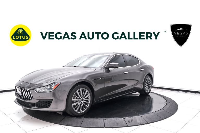 Used 2018 Maserati Ghibli Base for sale $44,800 at Lotus Cars Las Vegas in Las Vegas NV