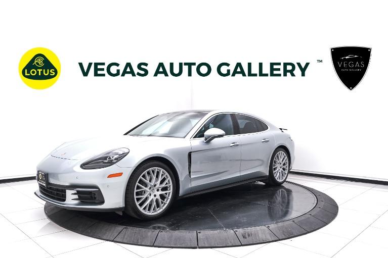 Used 2017 Porsche Panamera 4 for sale $69,800 at Lotus Cars Las Vegas in Las Vegas NV