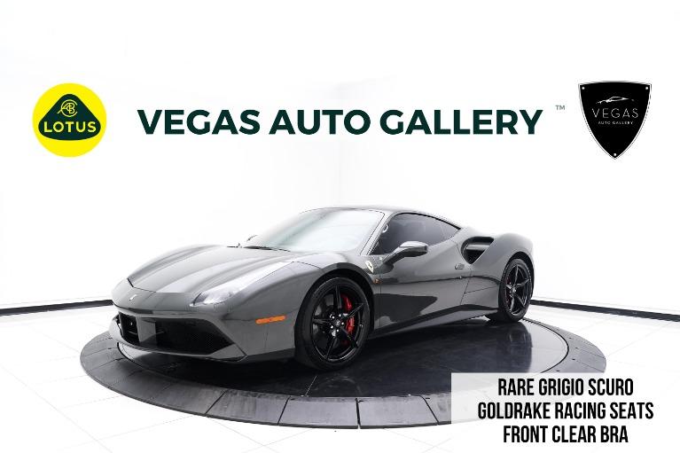 Used 2016 Ferrari 488 GTB Base for sale $239,800 at Lotus Cars Las Vegas in Las Vegas NV