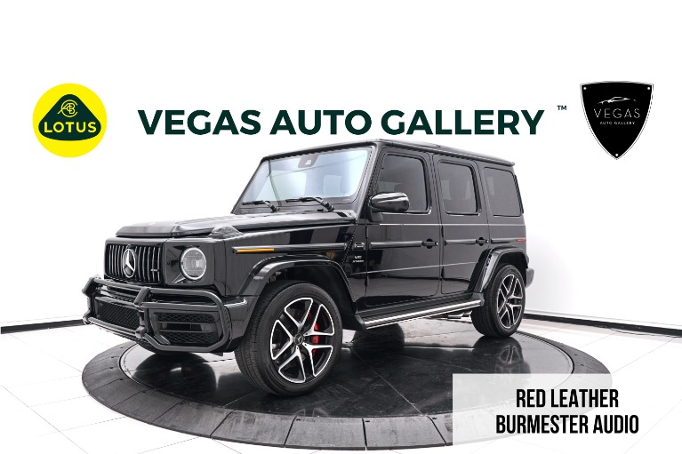 Used 2019 Mercedes-Benz G-Class G 63 AMG® for sale $198,800 at Lotus Cars Las Vegas in Las Vegas NV